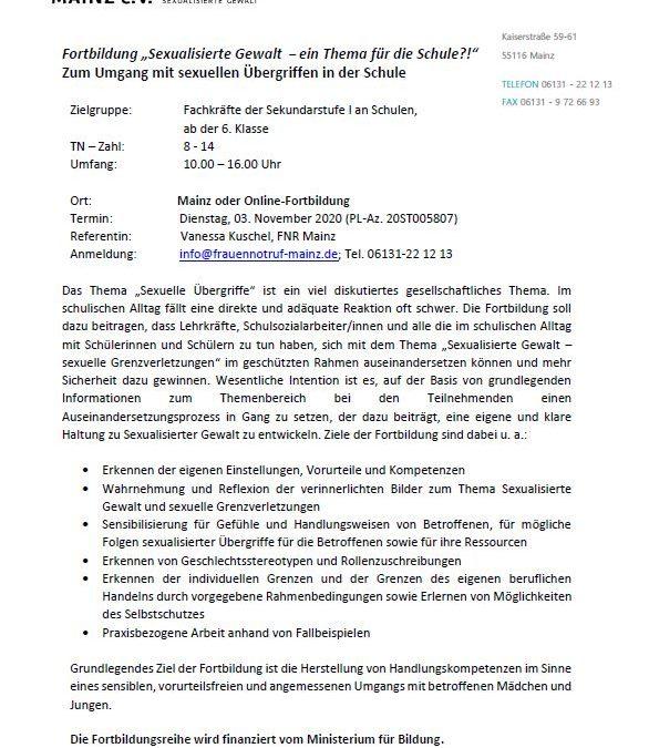 Seminare von Vielfalt Plus in Bitburg in 2021
