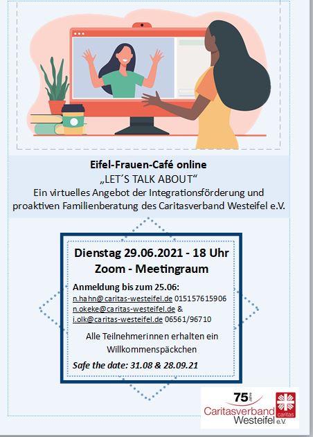EIFEL -Frauen-Cafe' Online